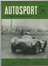 Autosport 11th septembre 1953 * Dundrod tourist trophy *