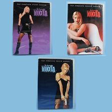 La Femme Nikita Season 1 + 2 + 3 on DVD - Complete First Second Third - DISCS=VG