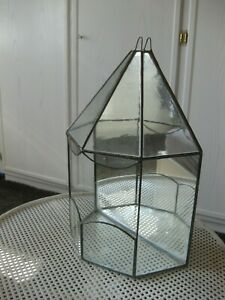Glashaus mit Bleiverglasung Kakteenhaus