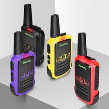 Ultra-thin Mini USB Walkie Talkies Handheld Long Range Two Way Radio Portable