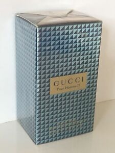 Gucci Pour Homme 2 II EDT 50ML NEW SEALED FOR MEN DISCONTINUED VERY RARE