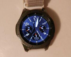 Samsung SM-R760 Gear S3 Frontier 46mm Smartwatch - Black