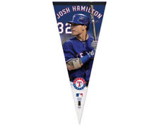 JOSH HAMILTON Texas Rangers BIG-TIME Huge 17x40 Premium Felt PENNANT - Last Ones