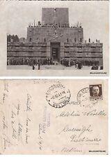 # CORTINA D'AMPEZZO -F.to GHEDINA -MANIFESTAZIONE AL SACRARIO -CART. VIAGG. 1941