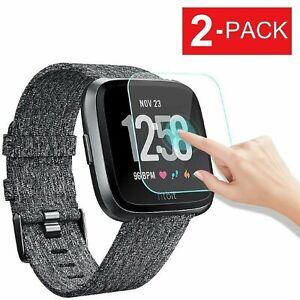 Fitbit Versa / Versa Lite Tempered Glass Screen Protector (2-Pack)