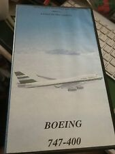 More details for boeing 747-400 cathay pacific cockpit view vhs london to hong kong