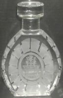 Louis Wann XO Brandy Miniature Crystal Bottle