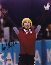 "APOLO ANTON OHNO ""GOLD MEDALIST"" SIGNED 8 X 10 PHOTO COA MOUNTED MEMORIES"