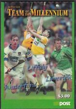 IRELAND 2000 HURLING TEAM OF THE MILLENNIUM SELF-ADHESIVE  BOOKLET #3