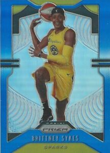 2020 WNBA PANINI * BRITTNEY SYKES * BLUE PRIZM PARALLEL CARD 057 /149 LA SPARKS