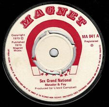 "MATADOR & FAY-sex grand national  7""   magnet  (hear)   reggae"