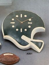 Atlantic 801 Football Helmet Clock Wall Hanging Sports Vintage Ceramic Mold