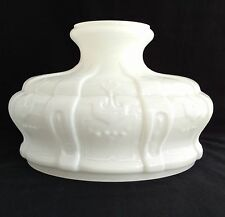 ALADDIN LAMP SHADE S401R WHITE OPAL CASED GLASS 10 inch FITTER - New in the Box