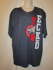 mens ecko unltd embroidered henley shirt LT nwt blue