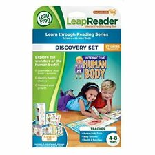 LeapFrog LeapReader Interactive Human Body Discovery Set (works with Tag) NEW