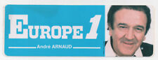 sticker autocollant french RADIO station - EUROPE 1 -  André ARNAUD Europe1