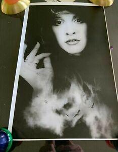 STEVIE NICKS POSTER 17 x 11 black and white