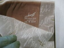 3 Pr Vintage Hanes 415 Reinforced Sheer Rht Nylon Stockings Size 10 Med Lt Beige