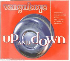 VENGABOYS - UP AND DOWN (3 track CD single)