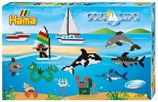 HAMA MIDI BEADS 3042 - SEA LIFE GIANT GIFT SET INCLUDING 6000 BEADS - BRAND NEW!