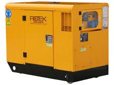 Silent Stromerzeuger 11kW/14kVA Stromaggregat 230V Notstromaggregat Diesel