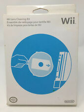Official USA Nintendo Wii Lens Cleaning Kit Open Box Complete Genuine OEM