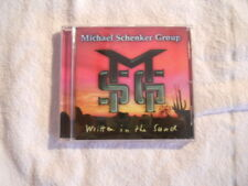 """Michael Schenker Group """"Written in the sand"""" 1996 cd Event Records NEW"""