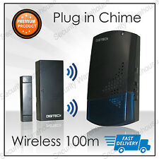 A4C WIRELESS SHOP VISITOR BELL Door ENTRY Magnet Contact Alert CHIME ALARM 100M