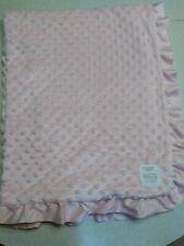 Carters Child Of Mine Blanket Of Mine Pink Ruffle Minky