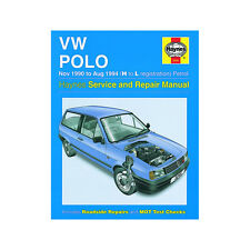 VW Polo 1.05 1.3 Petrol 1990-94 (H to L Reg) Haynes Manual