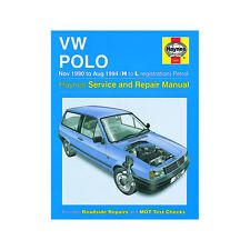 VW Polo Haynes Manual 1990-94 1.05 1.3 Petrol Workshop