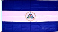 NICARAGUA FLAG - NEW 5 x 3 FT - LARGE - Country National