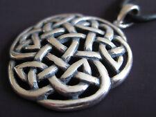 Keltischer Knoten 925'er Silber Ketten Anhänger Keltenknoten      / KA 006