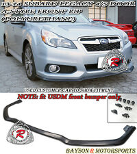 A-Style Front Lip (Urethane) Fits 13-14 Legacy [US-Spec Front Bumper Only]