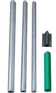 New S&K Telescoping Bat House Pole with Ground Socket, 15 foot