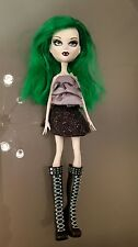Mystixx Kalani Doll 2 Faces Day and Night Vampire Green Hair