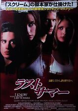 I Know What You Did Last Summer 1997 Japanese Mini Poster Chirashi Japan B5