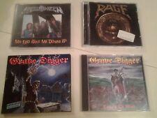 cd Sammlung Rage,Grave Digger,Helloween cd heavy metal heavy