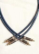 DH Labs BL-1 Series II Interconnects with Neutrik RCA plugs: 3' pair