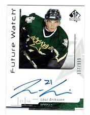 Loui Eriksson 2006-07 SP Authentic Autograph Rookie Card #176