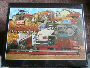 MASSEY FERGUSON HERITAGE/ Tractor Puzzle-NIB