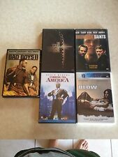 5 DVD lot - Blow, Coming to America, Bad Boys 2, Boondock Saints,Texas Chainsaw