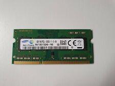 4 GB RAM Arbeitsspeicher Samsung SO-DIMM DDR3L-1600 PC3L-12800 1600Mhz
