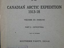 Canadian Arctic Expedition 1913-18 Volume III Insects Part J Orthoptera