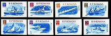 1962 Water sports,Motorboat,Boating,Sailing,Bootssport,Romania,2056,IMPERF$15/NH