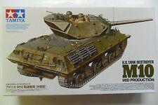 TAMIYA 1:35 KIT CARRO ARMATO U.S. TANK DESTROYER M10 MID PRODUCTION  ART 35350