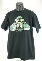 Dale Earnhardt Jr #88 Chase Authentics L Black T-Shirt Old School vs. New School
