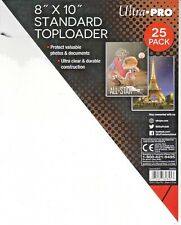 1 Topload 8x10 ULTRA PRO Photo Hard Rigid Topload Photograph Comes w/sleeve