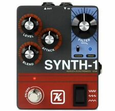 Keeley Synth-1 Reverse Attack Fuzz Wave Generator Guitar Effects Pedal