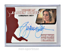 JAMES BOND ARCHIVES 2014 AUTO WA40 VIRGINIA HEY